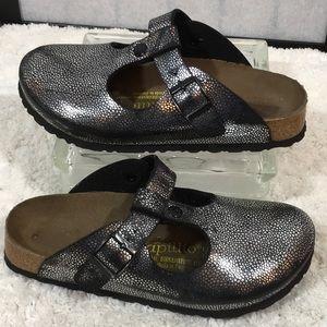 Birkenstock Papillio silver metallic sandal